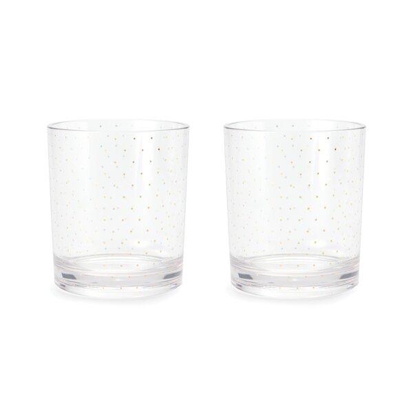 Petite Dot 12 oz. Acrylic Every Day Glass by kate spade new york