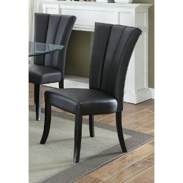 Kline Poplar Wood Upholstered Dining Chair (Set of 2) by Mercer41