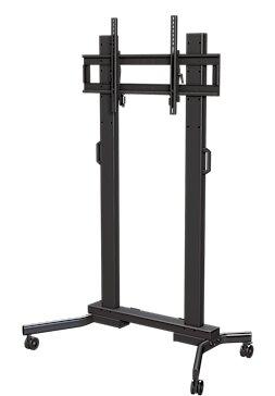 Tilting Universal Floor Stand Mount for Greater than 50 Flat Panel Screens by Crimson AV