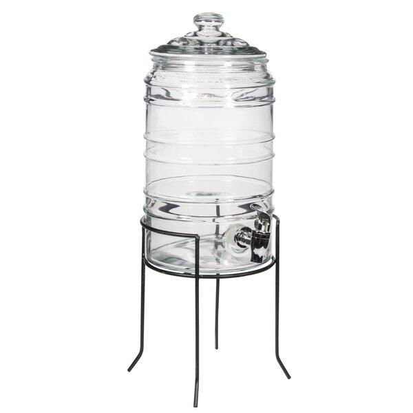 Reynoso 192 oz. Beverage Dispenser by Gracie Oaks