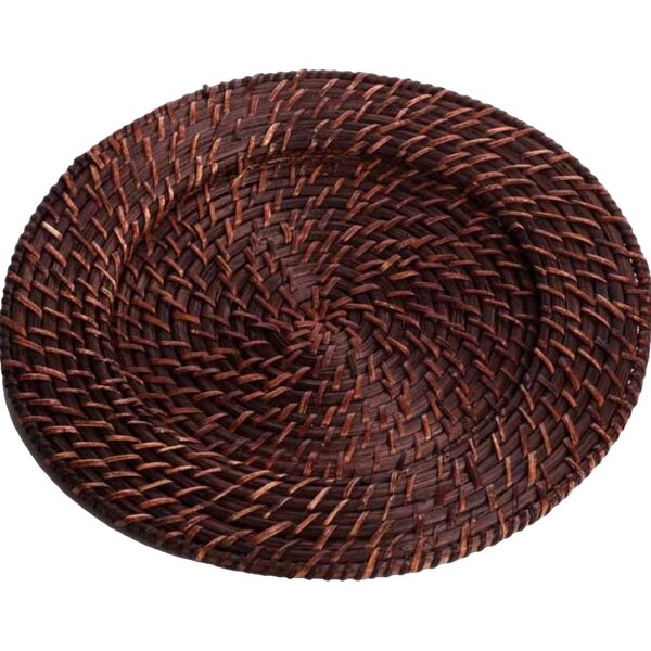 13 Rattan Charger (Set of 4) by Koyal Wholesale