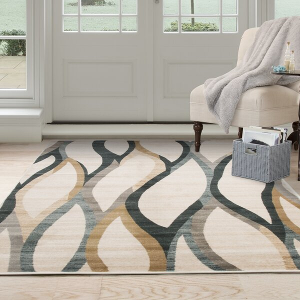 Adriana Cream Area Rug by Zipcode Design