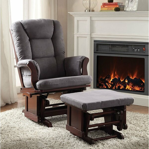 Groner Transitional Glider and Ottoman by Red Barrel Studio