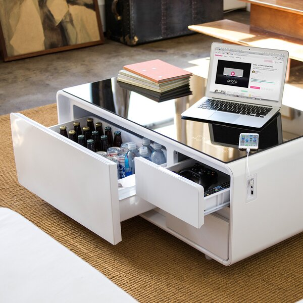 Smart Coffee Table With Storage By Sobro