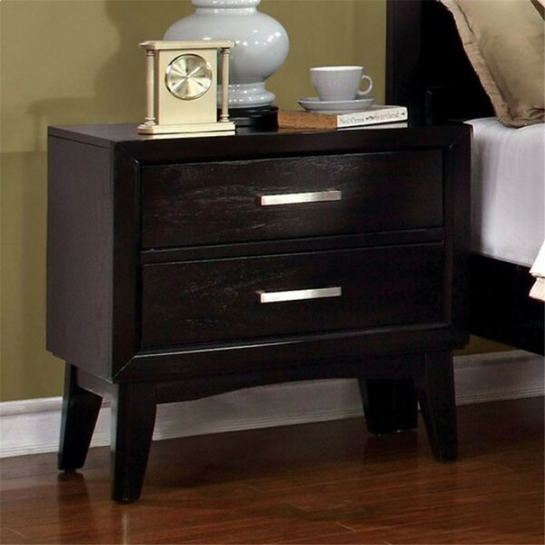Marlborough 2 Drawer Nightstand by George Oliver
