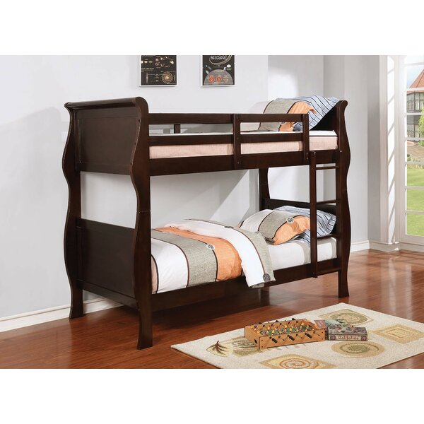 Leatherhead Twin over Twin Standard Bed by Harriet Bee