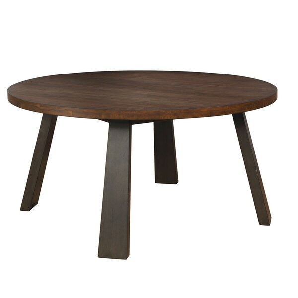 Quartz Solid Wood Dining Table by Loon Peak