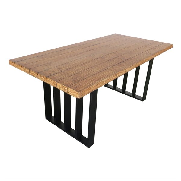 Merriweather Stone/Concrete Dining Table by Gracie Oaks