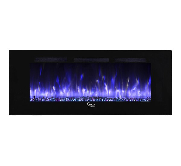 Fuoco Adjustable Wall Mounted Electric Fireplace by Caesar Fireplace