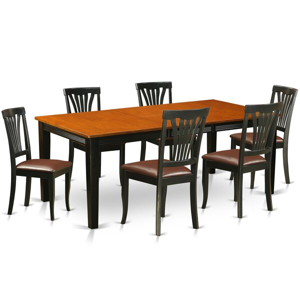 Loraine 7 Piece Dining Set by Red Barrel Studio Red Barrel Studio