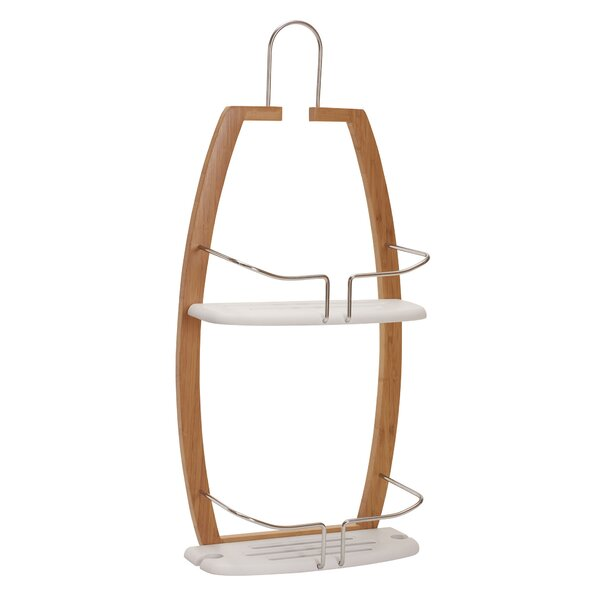Shaw Plastic Hanging Shower Caddy by The Twillery Co.