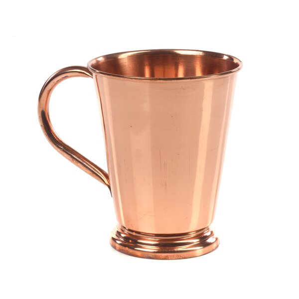 Pillion Cocktail Tumbler 12 oz. Copper Mug (Set of 2) by Ivy Bronx