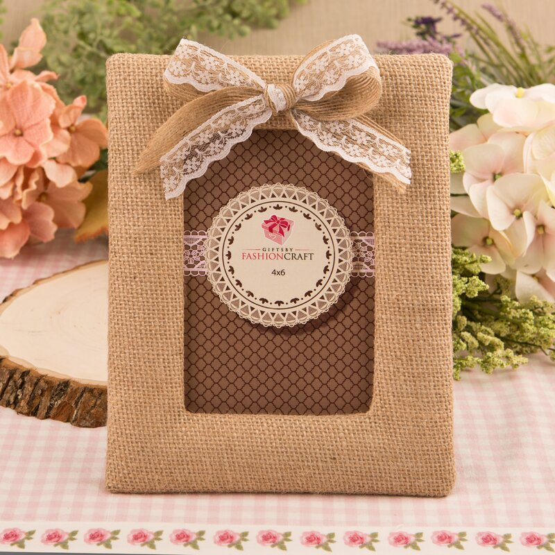 FashionCraft Burlap Picture Frame & Reviews | Wayfair