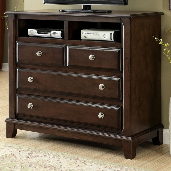 Review Daleville 4 Drawer Media Chest