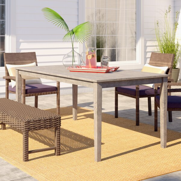 Englewood Dining Table by Beachcrest Home