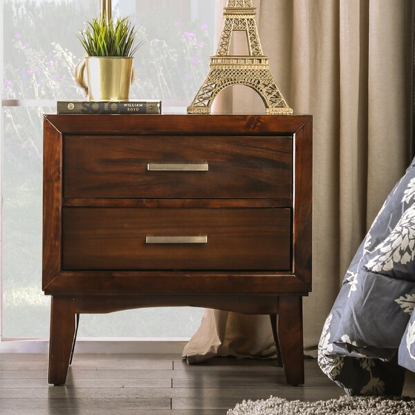 Dionn 2 Drawer Nightstand by Hokku Designs