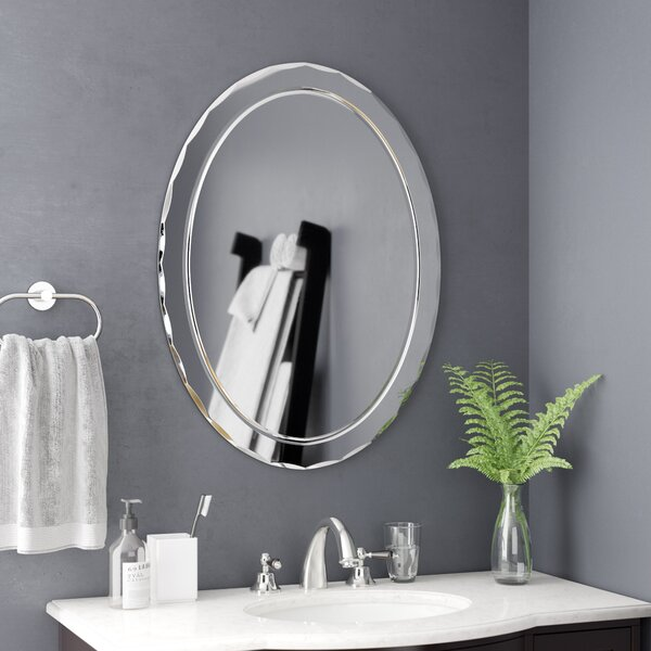 Frameless Wall Mirror by Wade Logan
