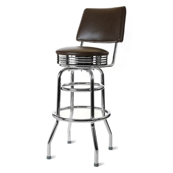 Retro Home 30 Swivel Bar Stool by Richardson Seating