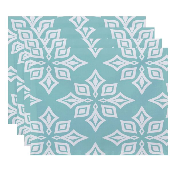Cedarville Star Geometric Print Placemat (Set of 4) by Highland Dunes