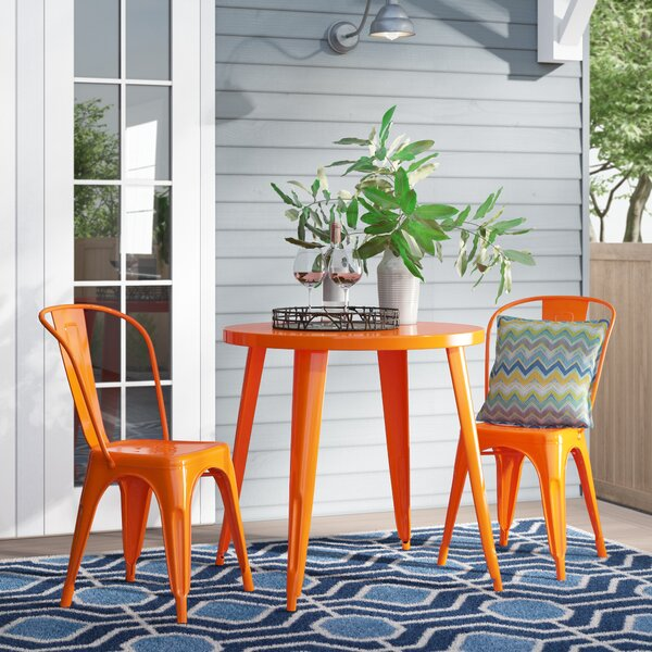 Brinson 3 Piece Bistro Set by Latitude Run