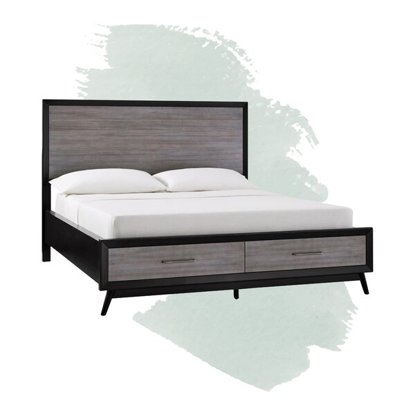 Alleya Storage Platform Bed by Foundstone