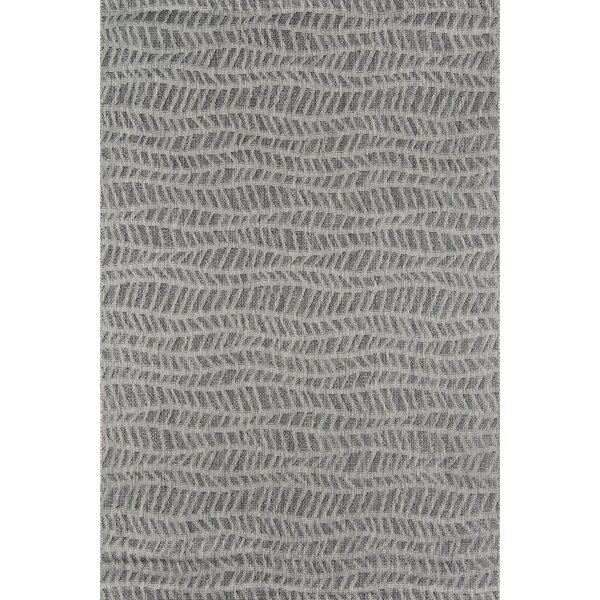 Emilia Gray Indoor/Outdoor Area Rug By Novogratz