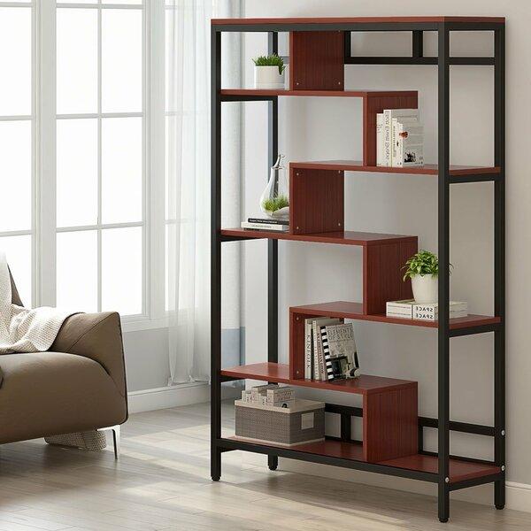 Tannen Geometric Bookcase by Wrought Studio