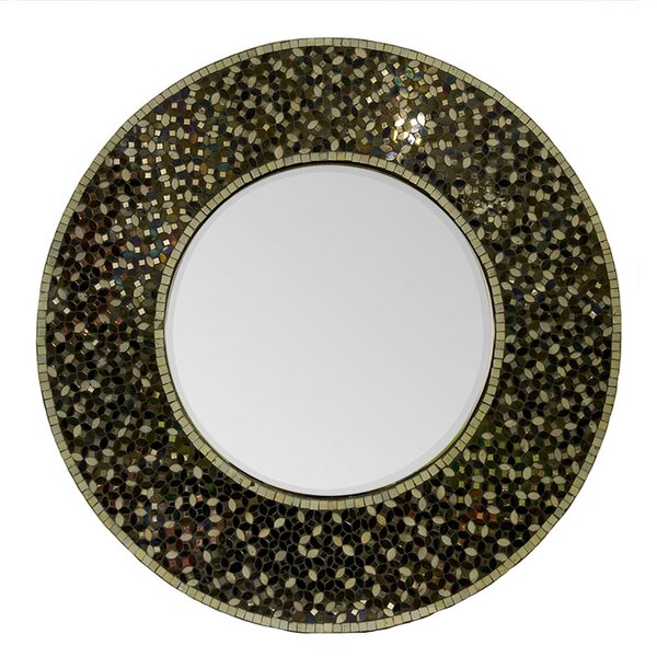 Rittenberry Mosaic Accent Mirror by Bloomsbury Market