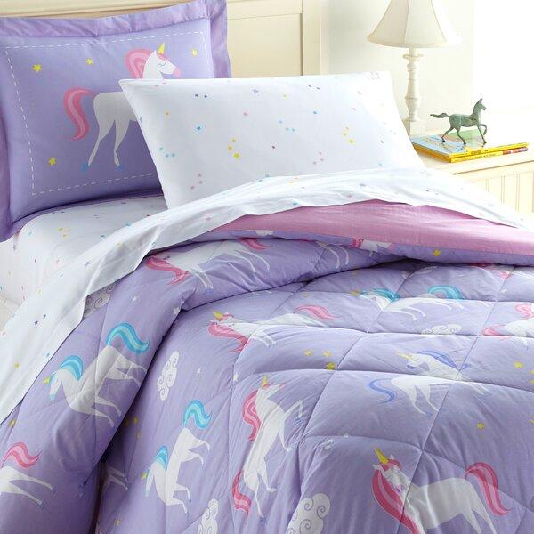 Unicorn Cotton Comforter Set