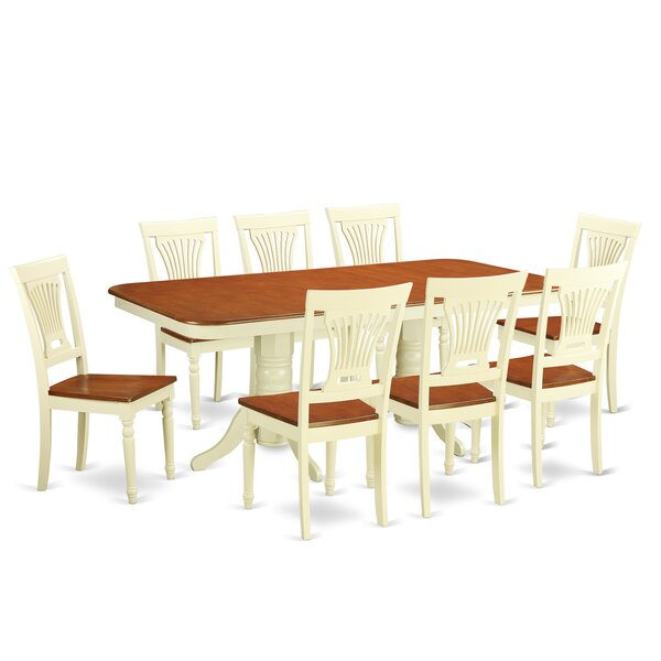 Napoleon 9 Piece Dining Set by Wooden Importers