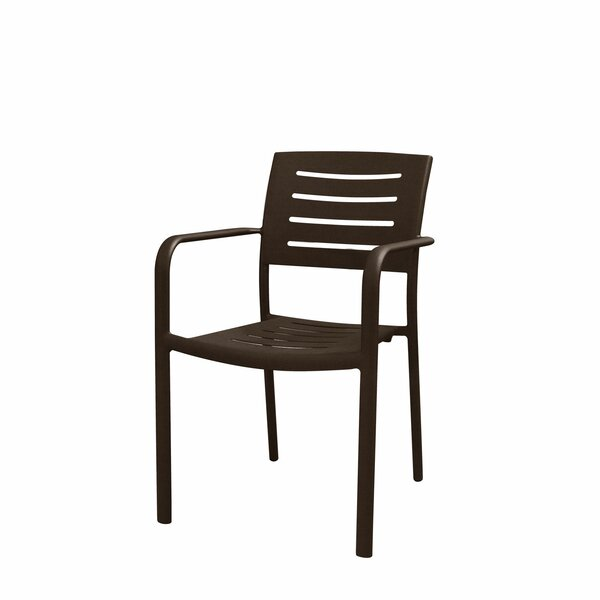 Adele Stacking Patio Dining Chair by Source Contract Source Contract