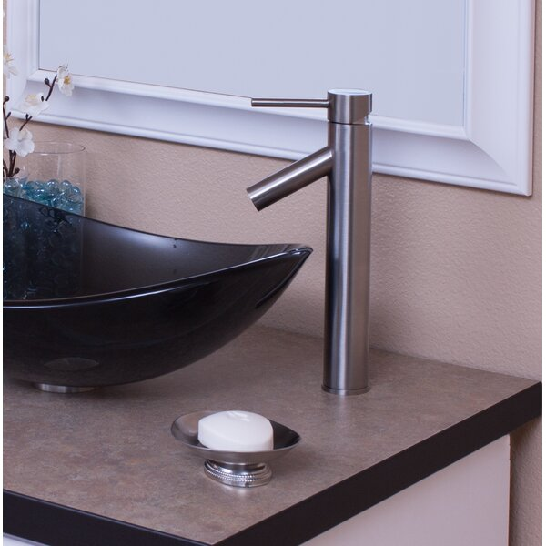 Dalyss Single Hole Bathroom Faucet by Novatto