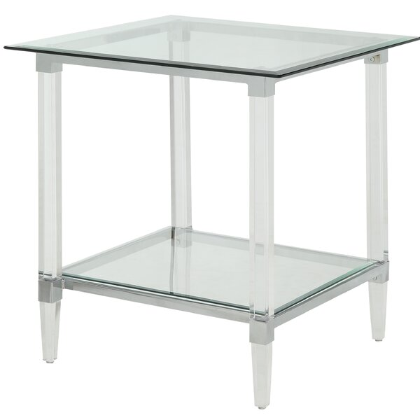 Salter End Table by Everly Quinn