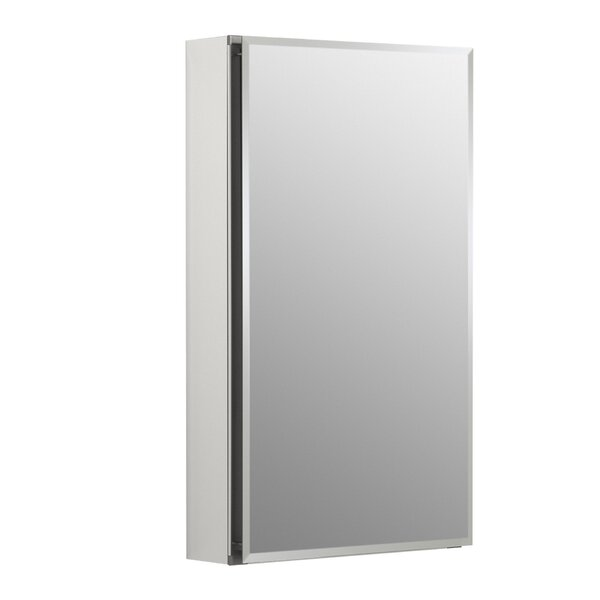 15 x 26 Aluminum Single-Door Medicine Cabinet by K
