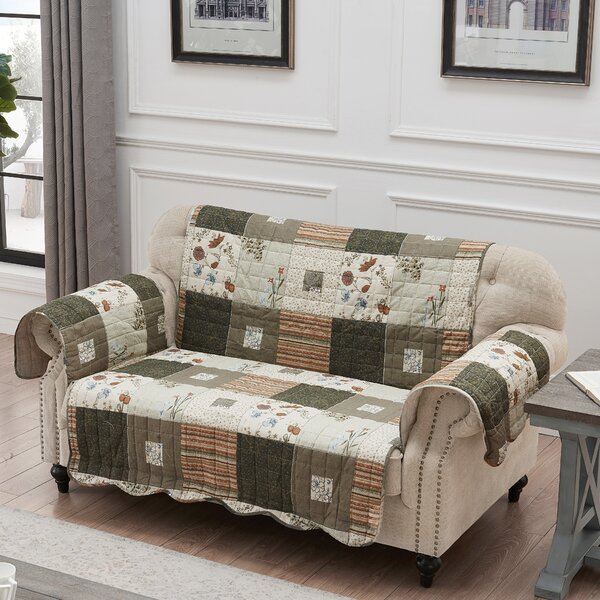 Sedona Loveseat Slipcover by August Grove
