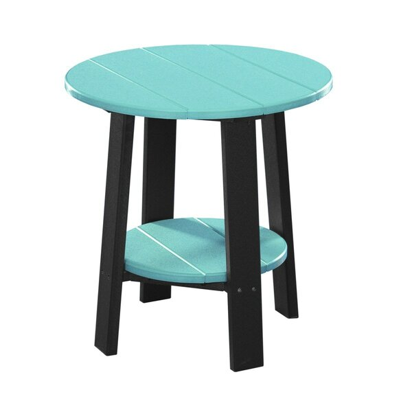 Lefke Plastic Side Table by Ebern Designs
