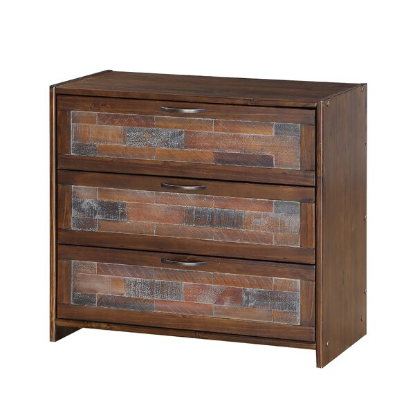 Lima 3 Drawer Bachelors Chest by Millwood Pines