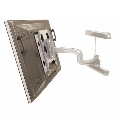 Reaction Series Single Articulating Arm Tilt/Swivel Universal Wall Mount for up to 65 LCD/Plasma by Chief Manufacturing