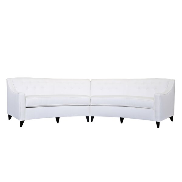 Charlotte Symmetrical Sectional By Poshbin