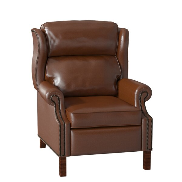 Presidential Leather Power Recliner By Bradington-Young