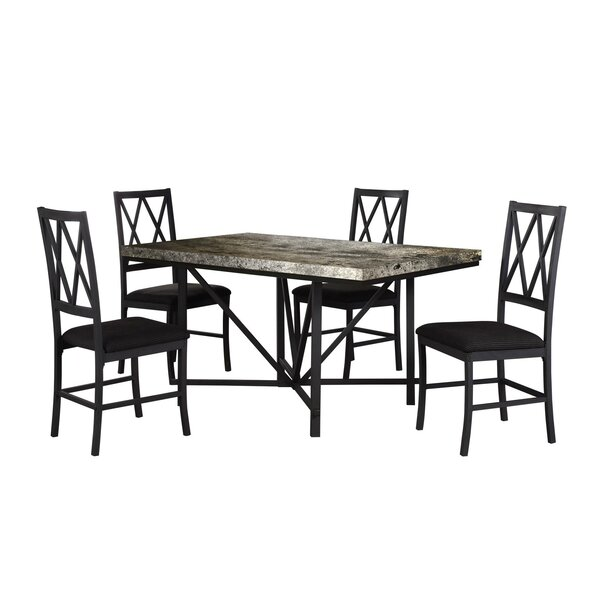 Best Choices Cape Faux Concrete Dining Table By Gracie Oaks Sale