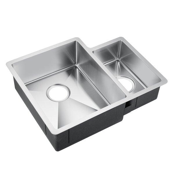 Fennel 24 x 19 Double Basin Undermount Kitchen Sink