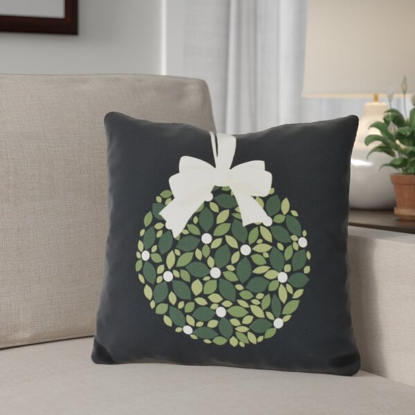 Mistletoe Me Throw Pillow by The Holiday Aisle