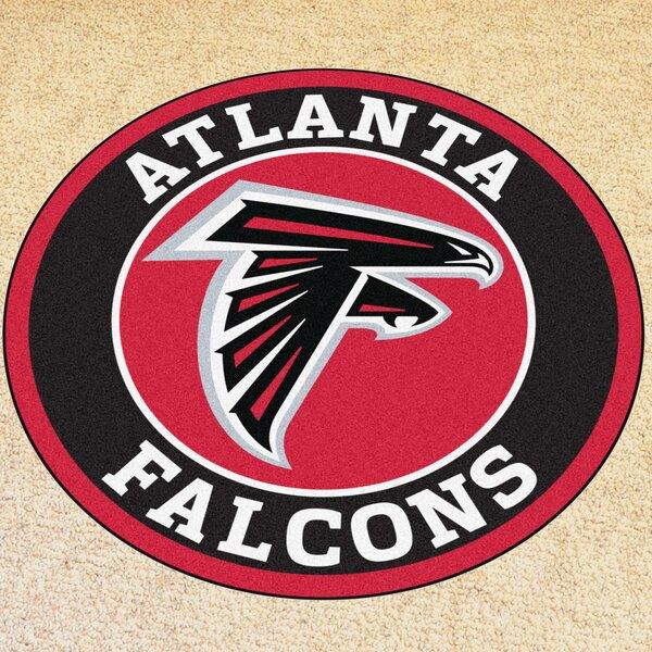 NFL Atlanta Falcons Roundel Mat by FANMATS