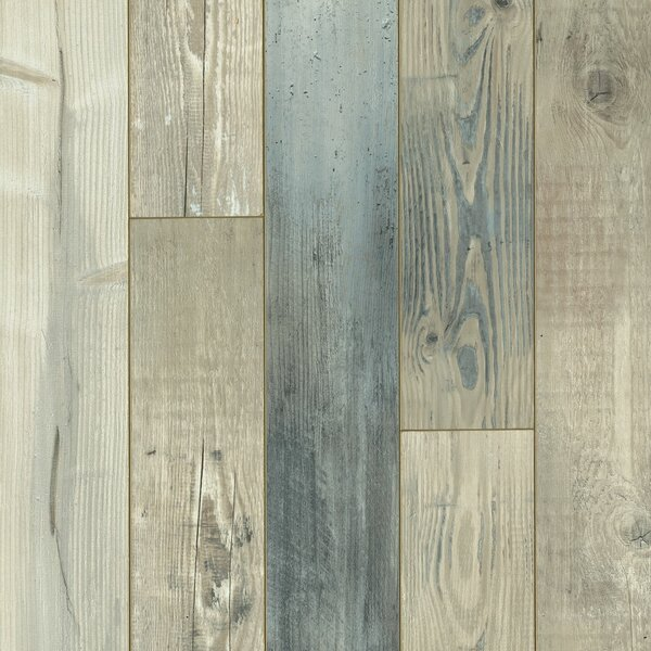 Architectural Remnant Seaside Pine 4.92 x 47.84 x 12mm Luxury Vinyl Laminate Flooring in Salt Air by Armstrong Flooring