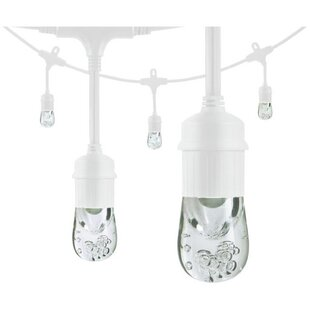 Classic LED Café 12 Light Globe String Lights By Enlighten ® by Jasco Outdoor Lighting