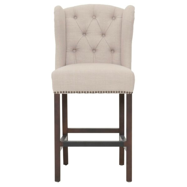 Eldorado Upholstered 26 Bar Stool by Ophelia & Co.