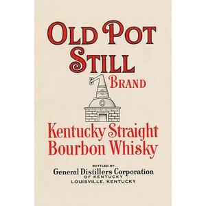 'Old Pot Still Brand Kentucky Straight Bourbon Whisky' Vintage Advertisement by Buyenlarge