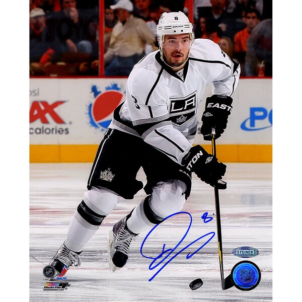 Drew Doughty Signed Skating Photographic Print by Steiner Sports