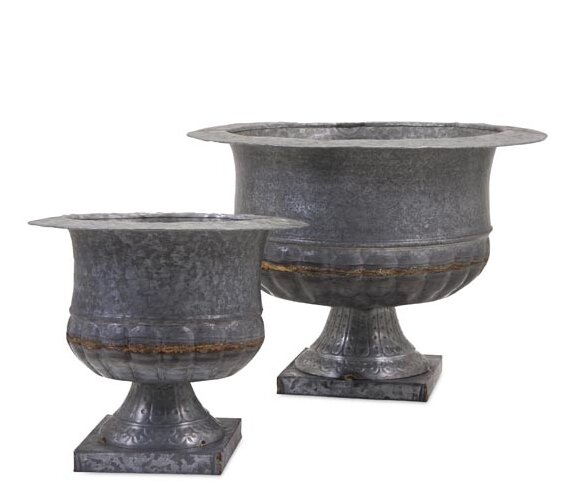 Carey 2 Piece Urn Set by Woodland Imports
